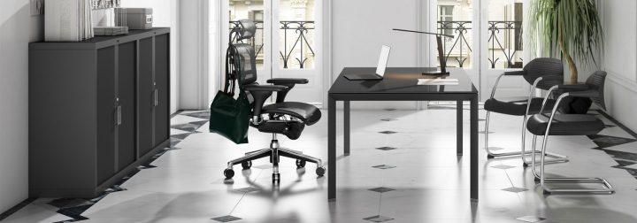 despacho de oficina minimalista