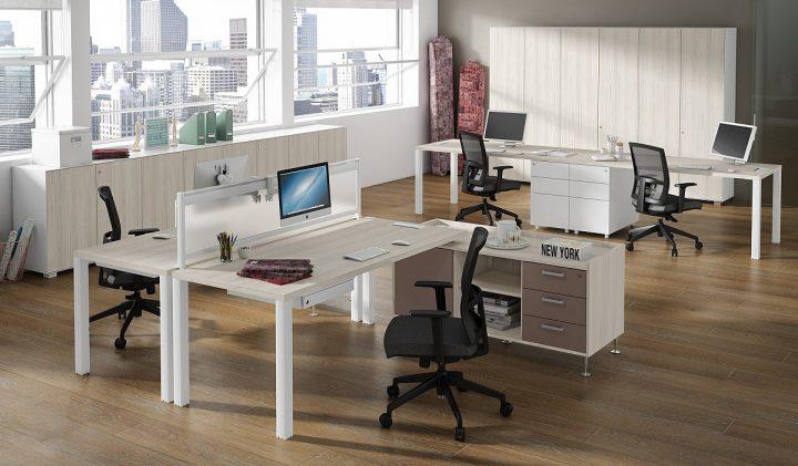 oficina más espaciosa muebles de oficina