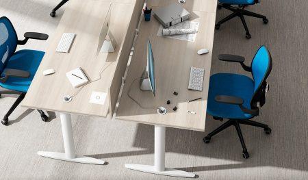 oficina más espaciosa simplicidad