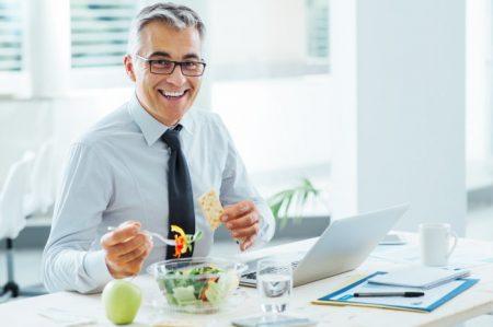 buena salud en la oficina