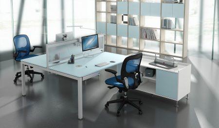 mesas con separadores perder la concentracion