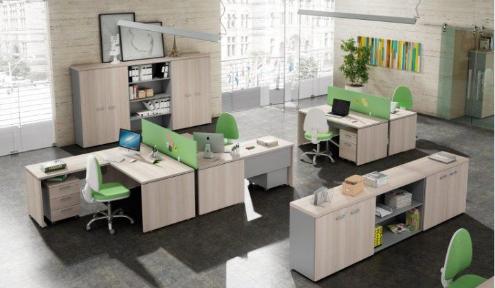 estilos de decoración para oficina estilo clásico