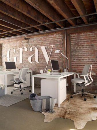 estilos de decoración para oficina estilo industrial