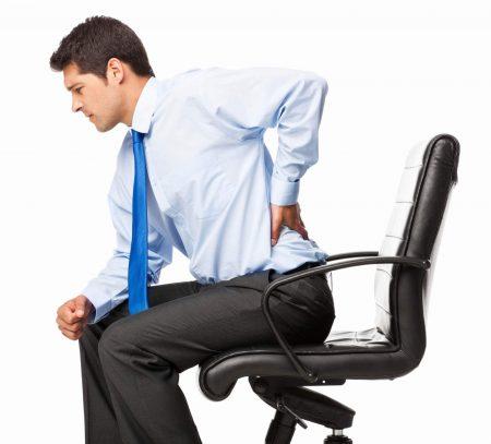 silla para el dolor de espalda