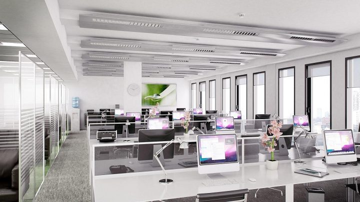 creatividad en la oficina espacios abiertos