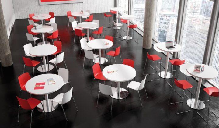creatividad en la oficina mesa redonda