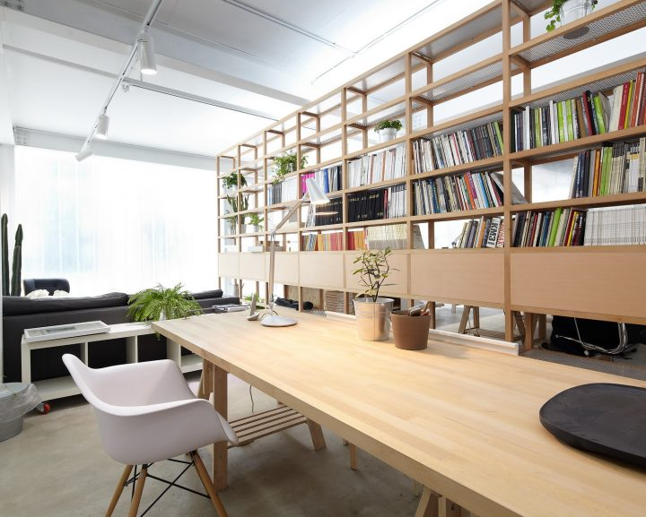 decorar un estudio de arquitecto