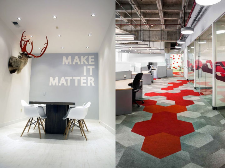 7 ideas de decoración de oficinas 2018