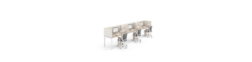 Separadores de mesas de oficina ▷ El mejor precio | Ofiprix